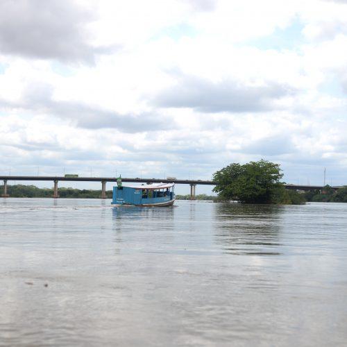 Vazão do Parnaíba dobra e nível do rio aumenta 64 cm em 24 horas