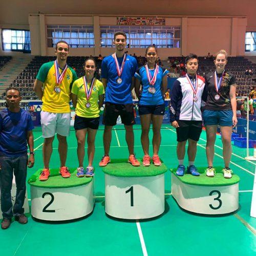 Piauienses conquistam 5 medalhas em torneio de badminton na República Dominicana