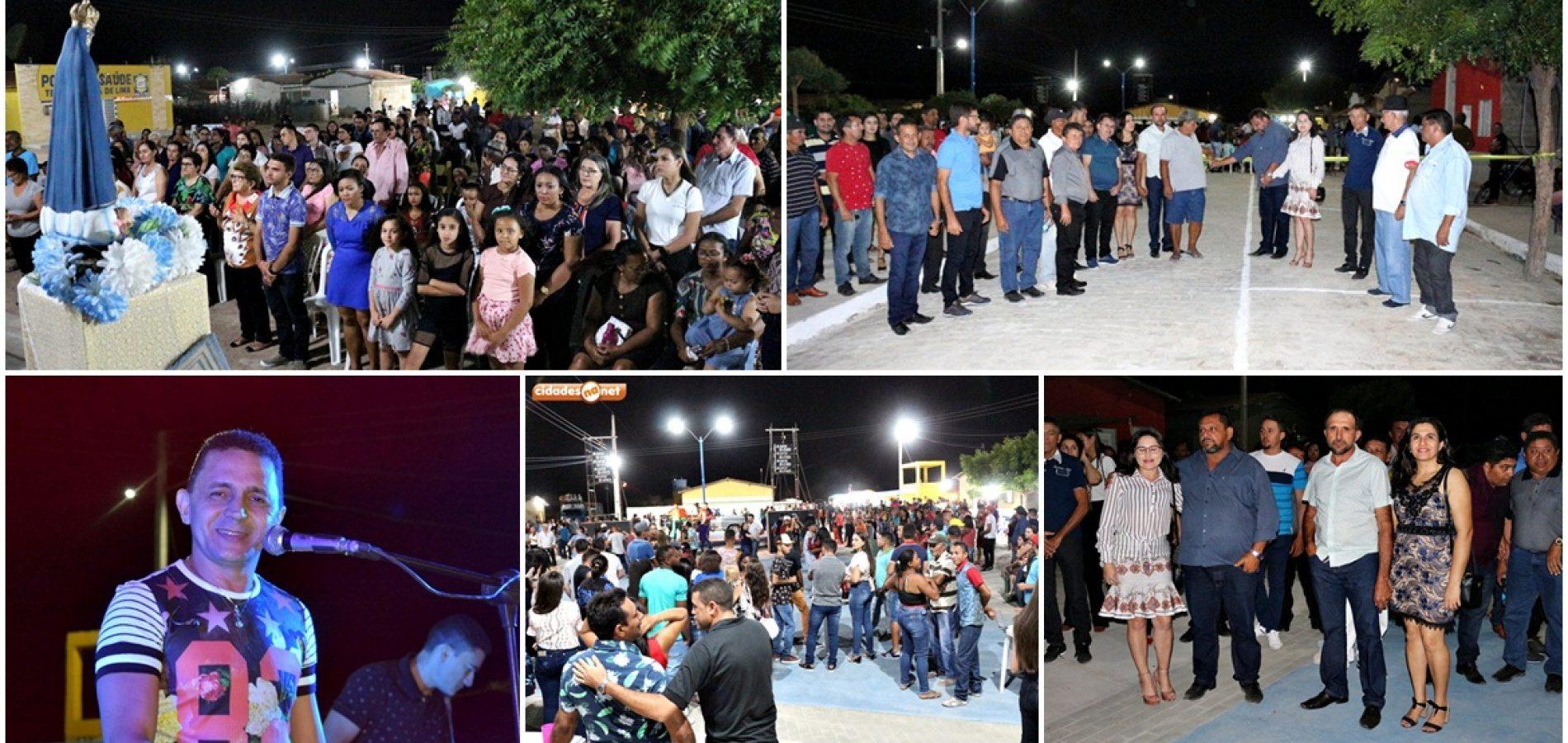 Prefeitura de Belém promove festa e inaugura calçamento durante os festejos de povoado