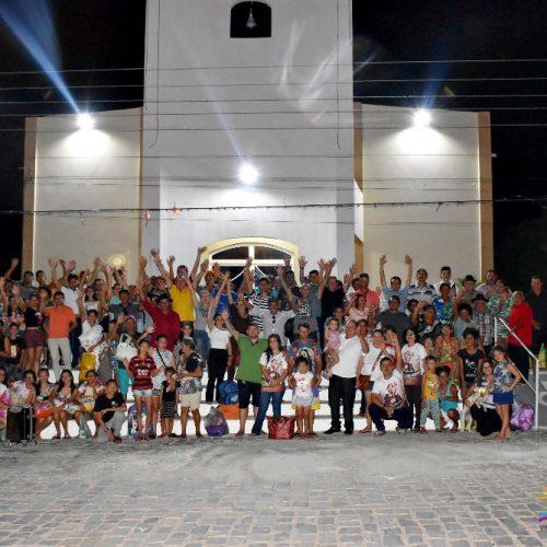 VILA NOVA | Com apoio do prefeito Edilson Brito e vereadores, 300 Romeiros participam da 19ª Romaria ao Canindé-CE