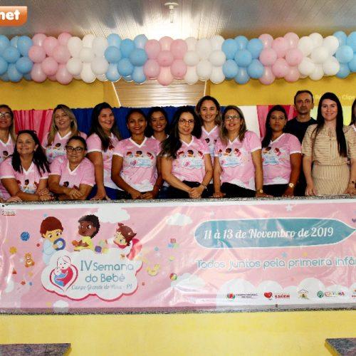 Palestra Saúde e Cuidados na primeira infância abre IV Semana do Bebê em Campo Grande do Piauí