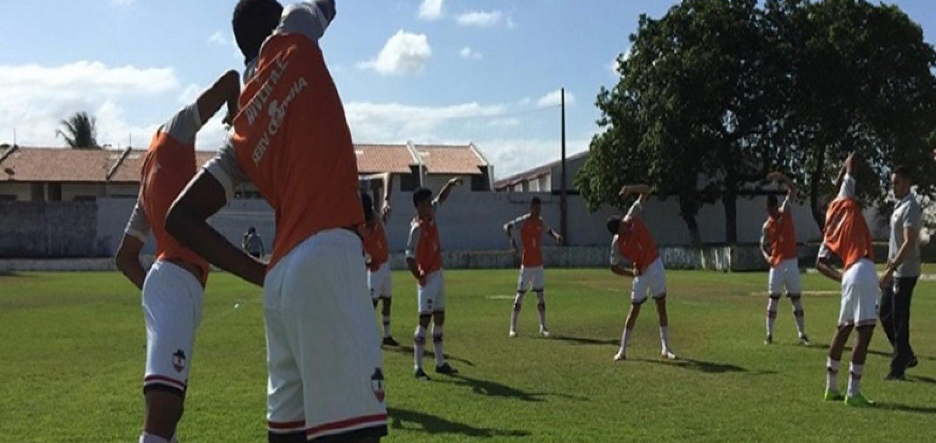 Copa do Nordeste Sub-20: River precisa reagir no segundo jogo com o Ceará