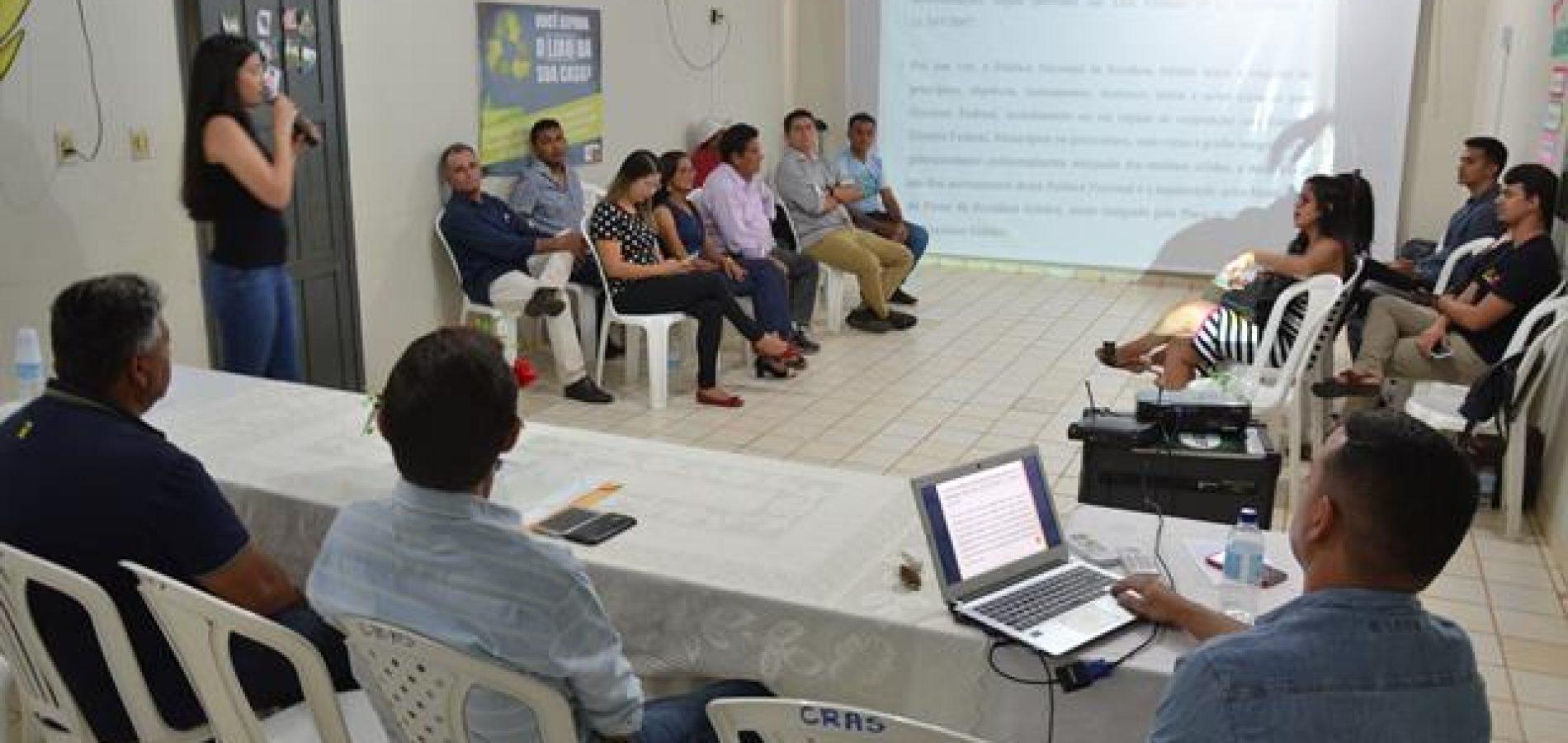 Geminiano realiza a II Audiência de elaboração do Plano de Resíduos Sólidos