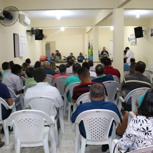 Audiência sobre segurança pública é realizada em Santana do Piauí