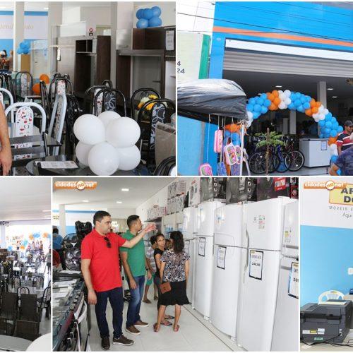 Campo Grande do Piauí ganha filial da loja Armazém do Povo; veja como foi a inauguração!