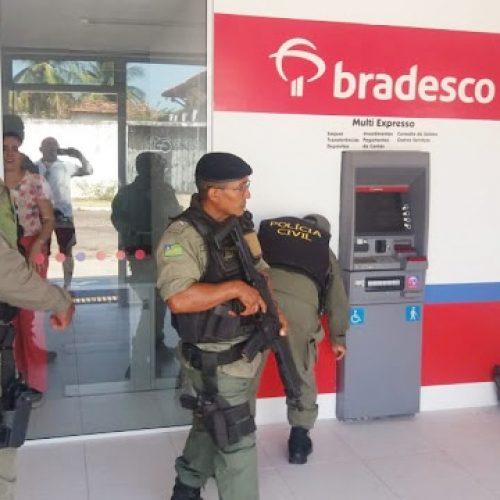 Agência do Bradesco é alvo de criminosos no PI