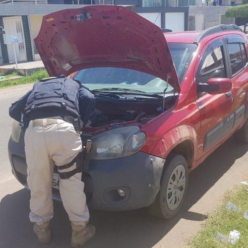 FRANCISCO SANTOS│Veículo roubado em São Paulo é recuperado na BR-316 pela PRF