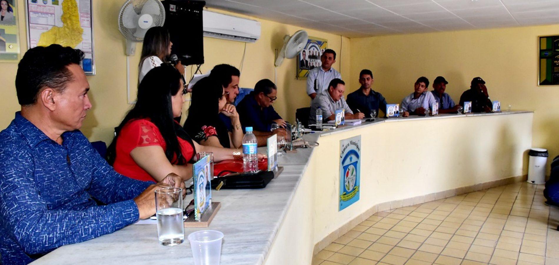 VILA NOVA | Em sessão, vereador Adonelys apresenta ações do seu mandato para o Pov. São João Batista e repudia críticas infundadas