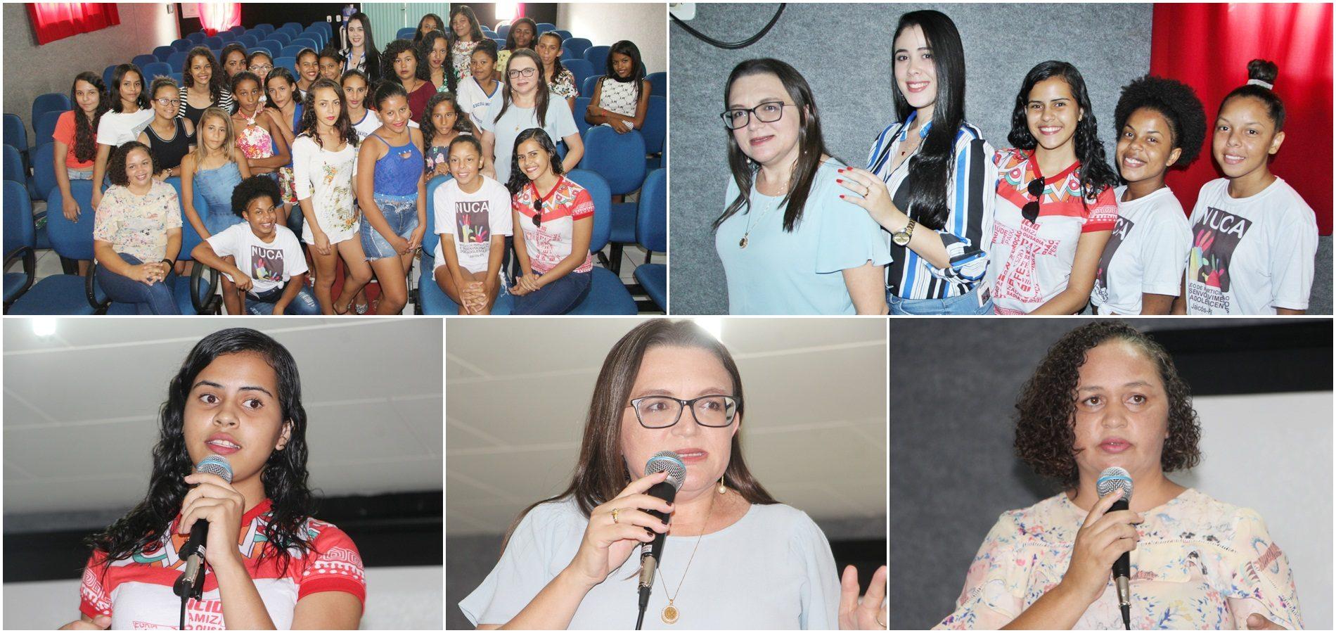 NUCA de Jaicós promove audiência e discute liderança feminina