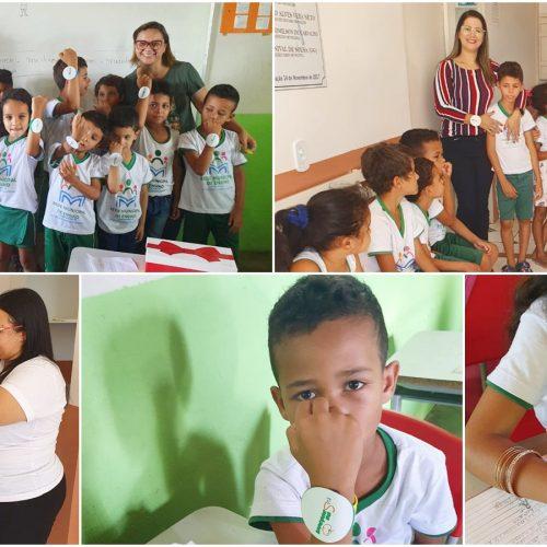 Secretaria de Educação de Geminiano realiza teste de aceitabilidade da merenda escolar