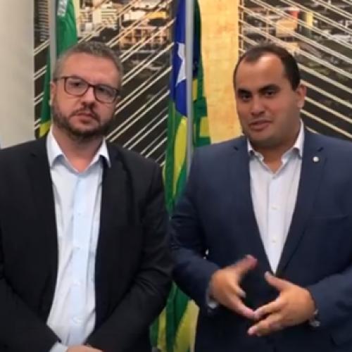 Georgiano Neto se reúne com superintendente do Banco do Brasil e trata sobre atendimento com numerário na agência de Jaicós
