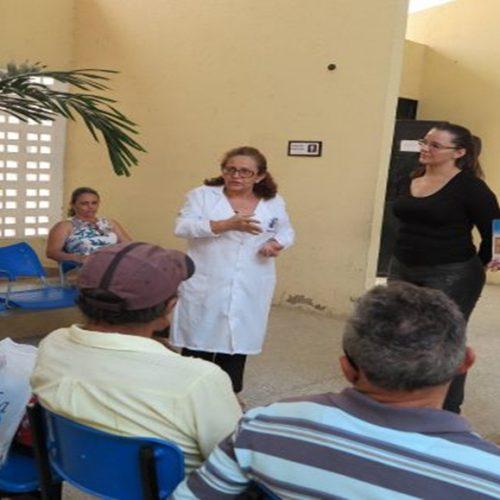 Em Araripina, Sesc e Prefeitura realizam Feira de Saúde no distrito de Gergelim durante campanha do Novembro Azul
