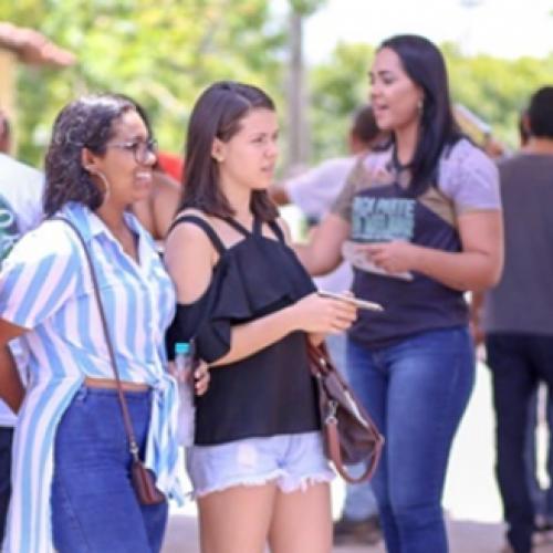 Piauí tem maior taxa de presença no primeiro dia do Enem no Brasil