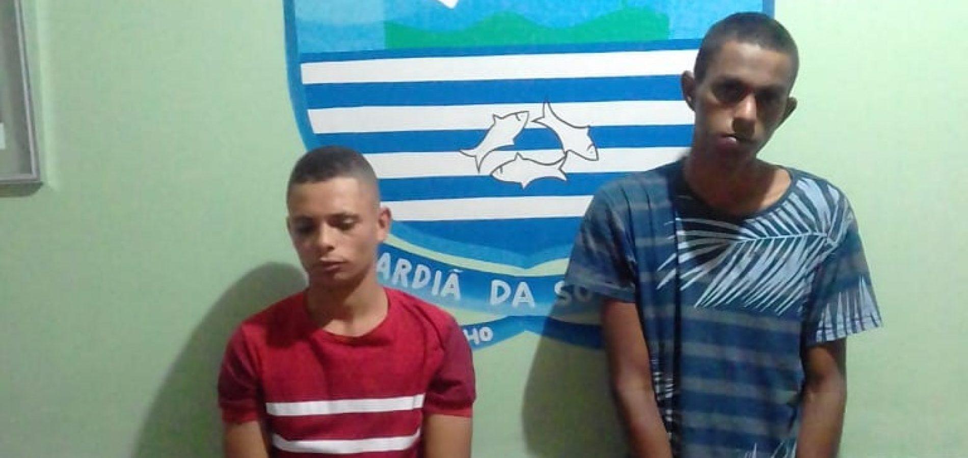 Suspeitos de tentar matar homem queimado após briga são presos em Simões