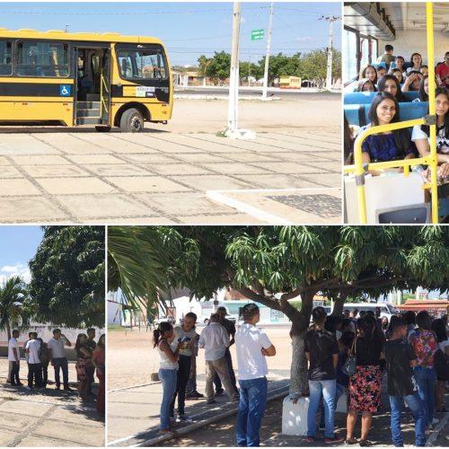 Prefeitura de Jaicós disponibiliza transporte gratuito para alunos participantes do ENEM