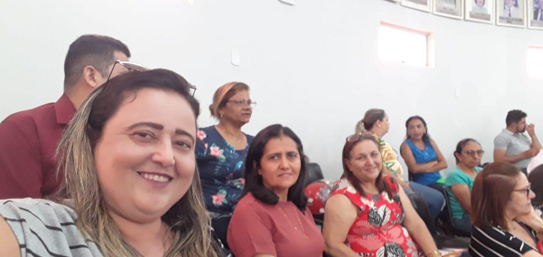 Comitiva de Vila Nova do Piauí participa do 1º Encontro Técnico TCE Educação, em Picos