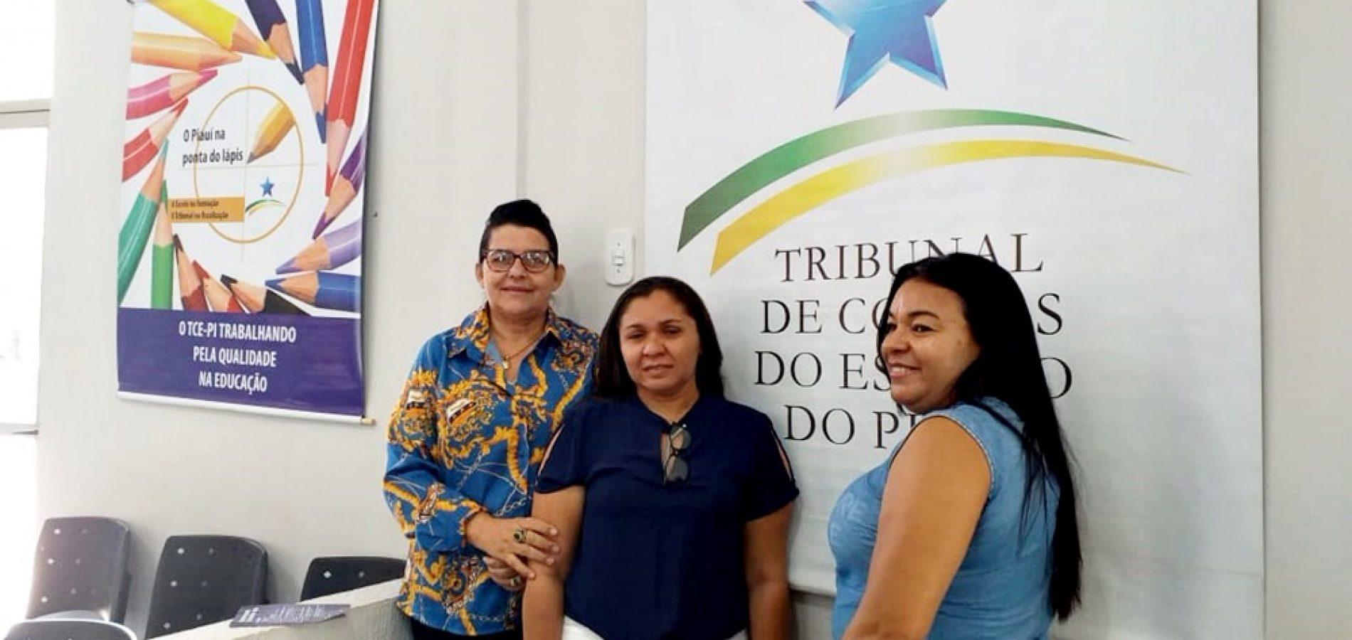 Representantes de São Julião participam do 1º Encontro Técnico TCE Educação, em Picos