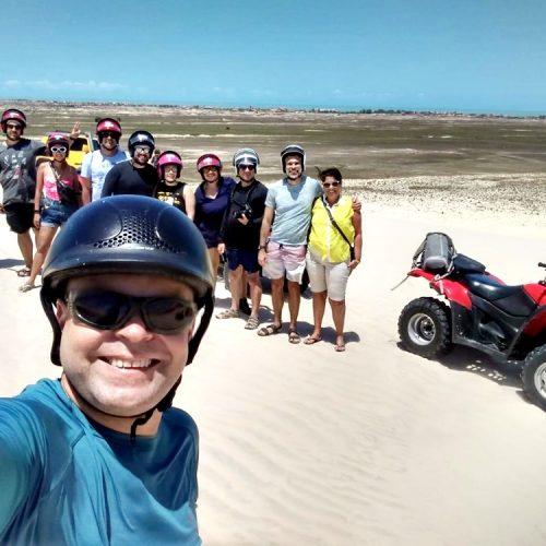 Blogueiros nacionais exploram atrativos turísticos do litoral piauiense
