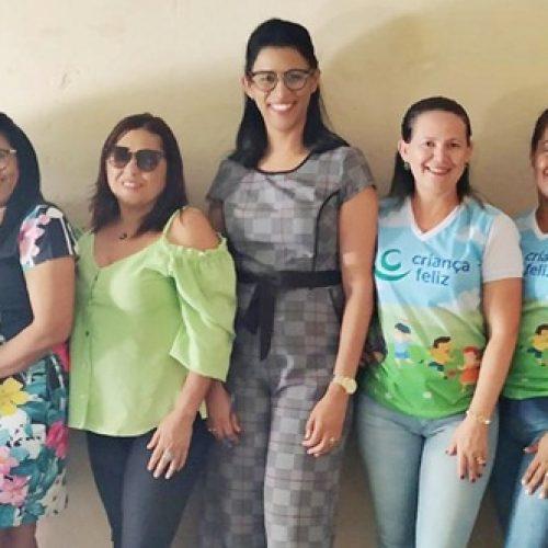 Multiplicadoras da SASC realizam visita de monitoramento do Programa Criança Feliz em Patos do Piauí