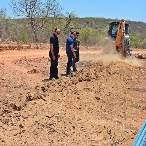 Projeto de abastecimento vai levar água para comunidades rurais em Massapê do Piauí