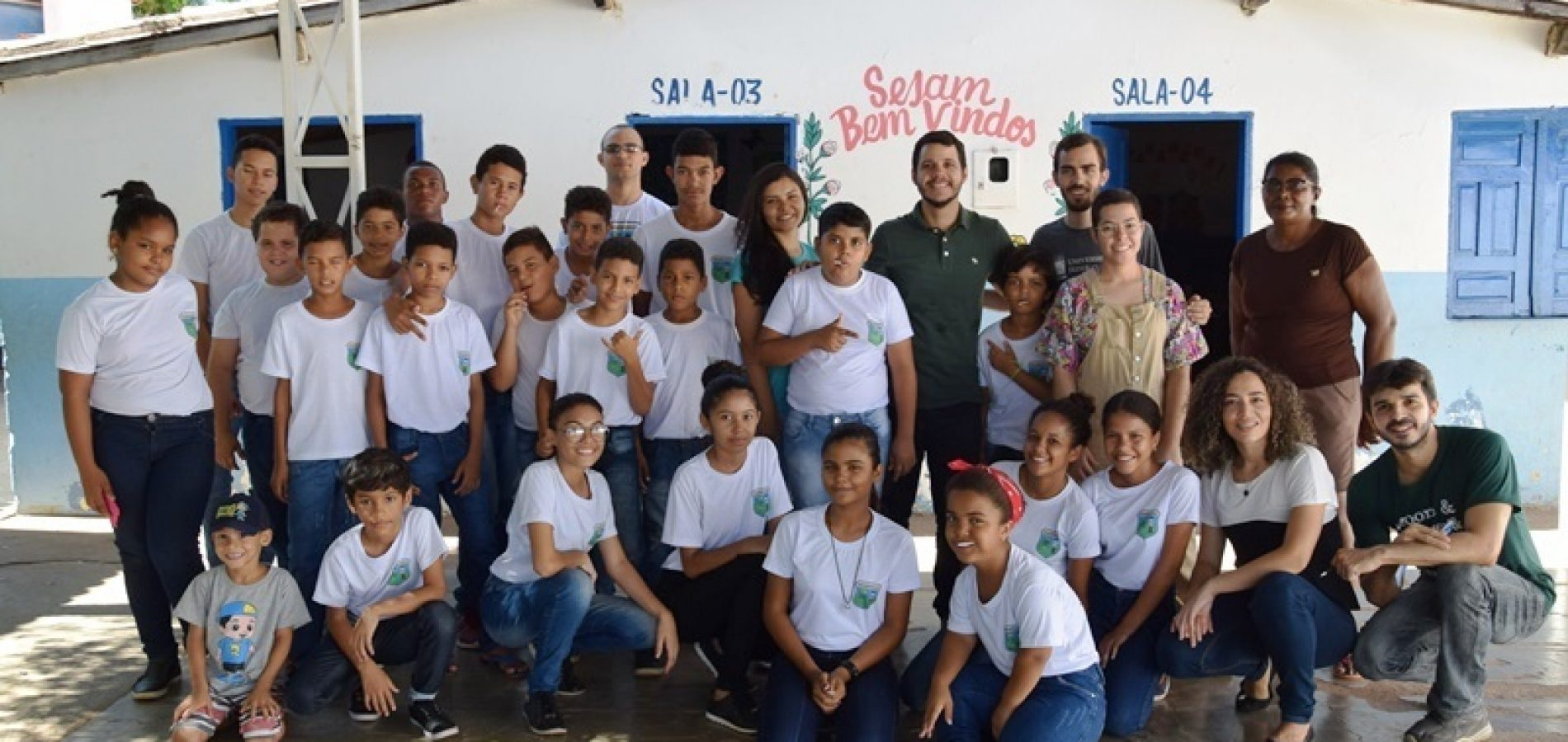 PICOS   Alunos da UFPI promovem atividades com crianças do Pelotão Mirim da AABB