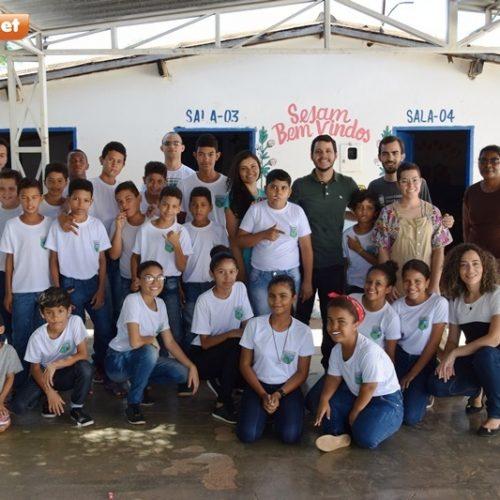 PICOS | Alunos da UFPI promovem atividades com crianças do Pelotão Mirim da AABB