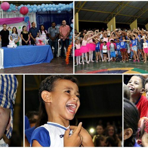 Confira fotos do evento de encerramento da Semana do Bebê em Massapê do Piauí