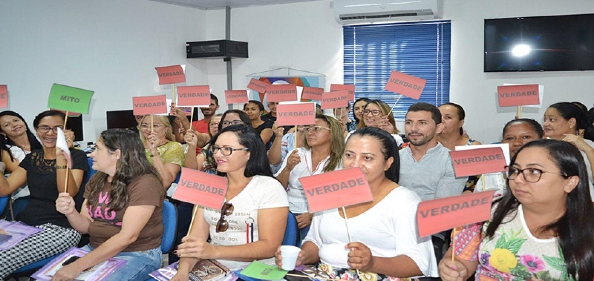 SIMÕES | Secretaria de Educação realiza 1º ciclo da Formação Continuada para implementação do Currículo do Piauí