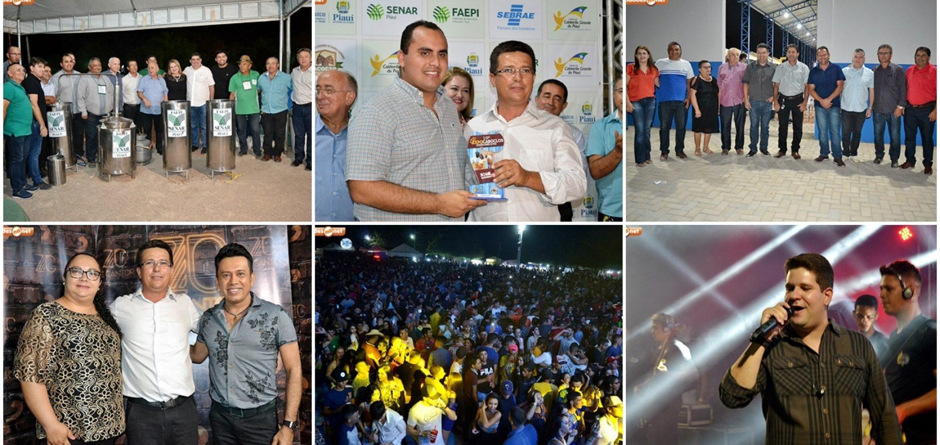 Confira fotos do 2 º dia da ExpoCaboclos em Cadeirão Grande do Piauí
