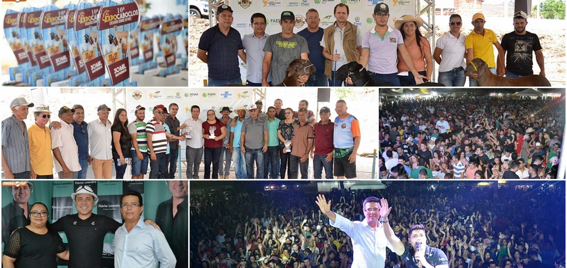 CALDEIRÃO | Confira fotos do 3 º dia de shows e premiação da X ExpoCaboclos