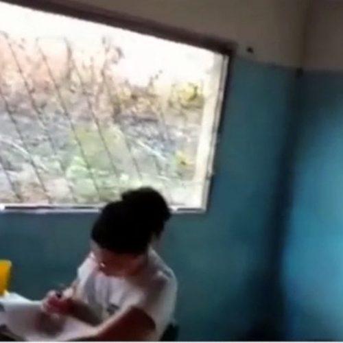 Alunos sofrem com salas sem climatização e falta de quadra esportiva em escola no Piauí