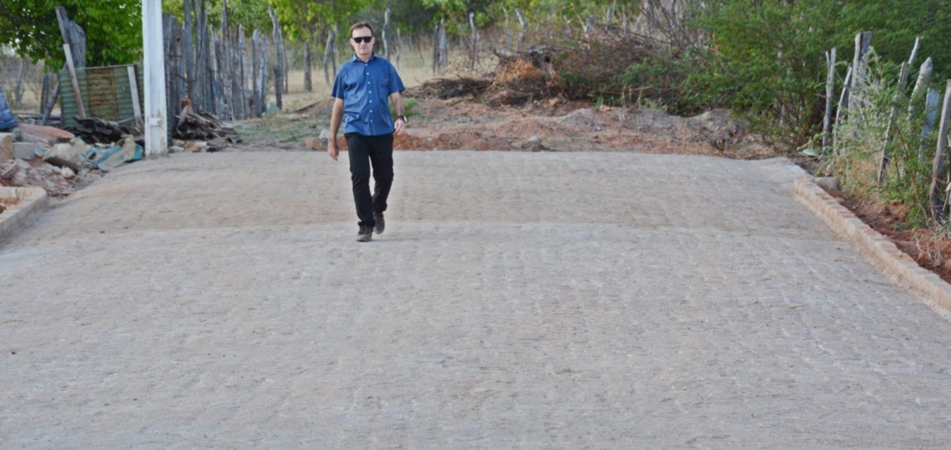 Projeto de pavimentação contempla mais ruas em Massapê do Piauí