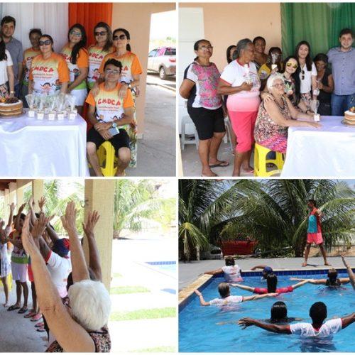Prefeitura de Padre Marcos promove confraternização com idosos e membros do CMDCA