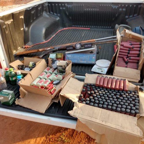 Três homens são presos durante Operação Desarme com munições e armas no Piauí