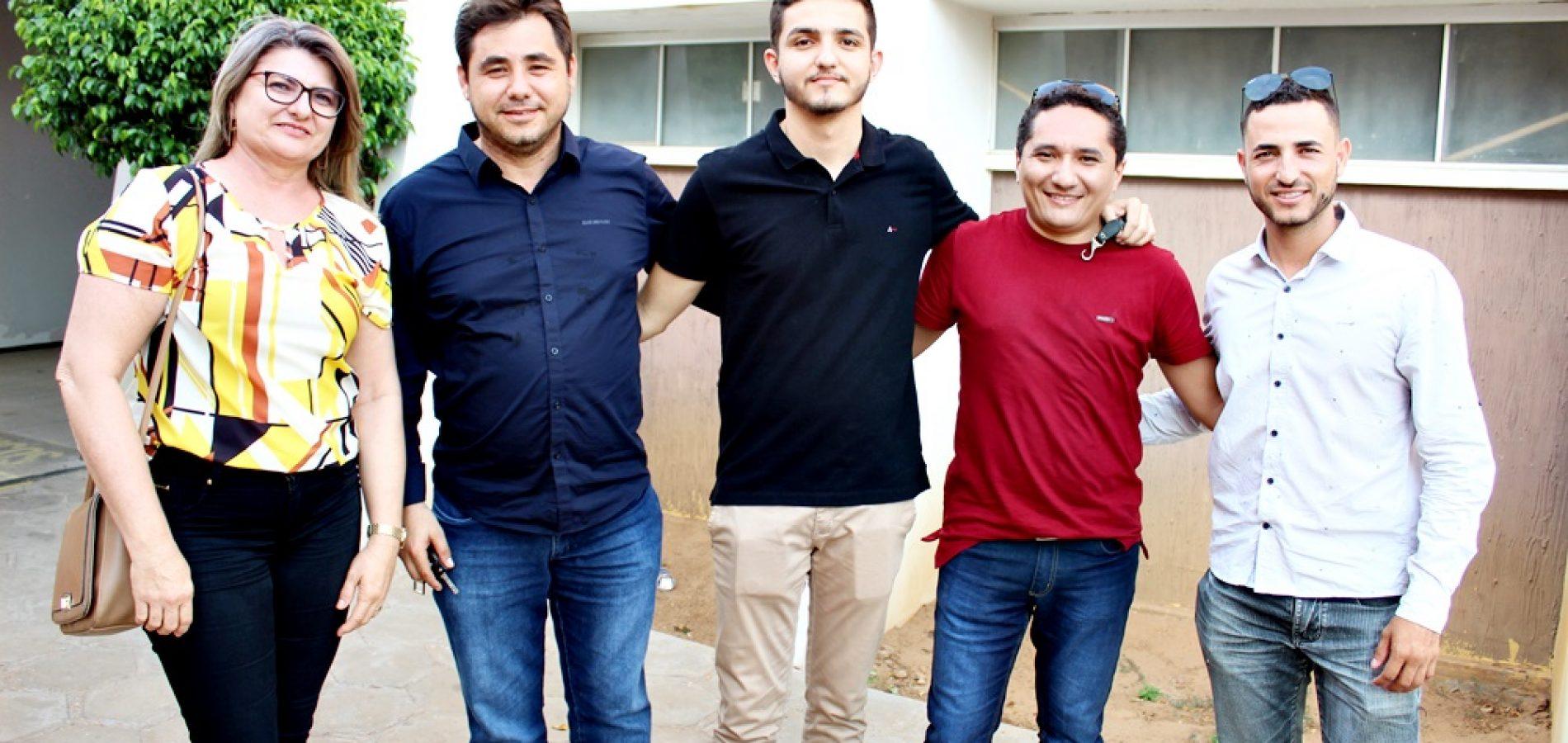 De Padre Marcos, prefeito e equipe participam de Encontro Técnico TCE Educação em Picos