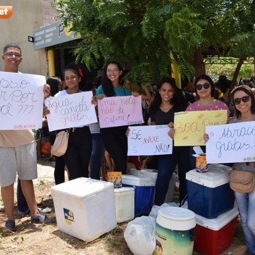 Membros da ABU e acadêmicos de Medicina da UFPI dão suporte emocional a vestibulandos em Picos