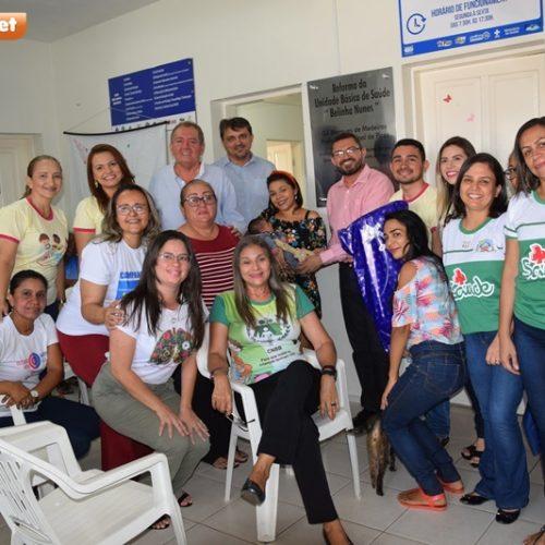 SEMANA DO BEBÊ | Secretaria de Saúde realiza entrega da Chave do Bebê Prefeito em Picos