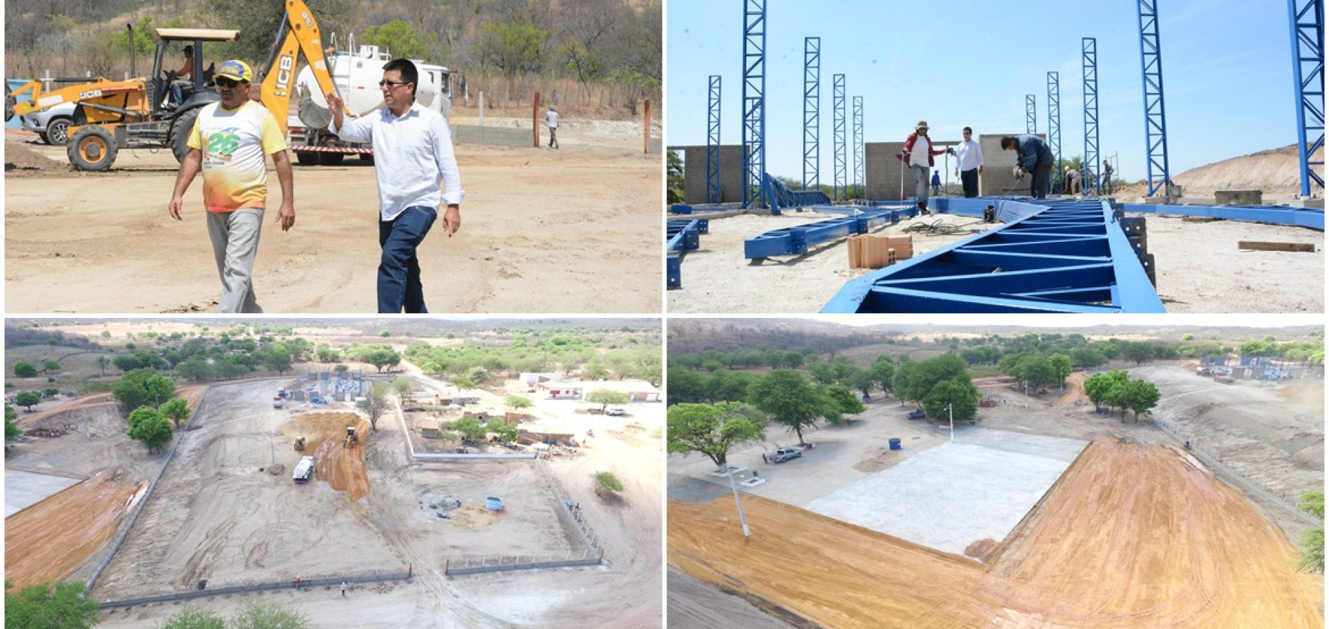 Caldeirão Grande se prepara para a 10ª ExpoCaboclos; prefeito acompanha obras e fala sobre o evento