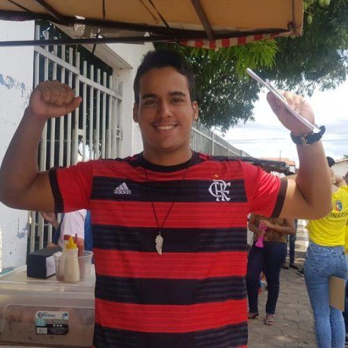 Candidato que fez prova com camisa do Flamengo diz ter chutado igual a Gabigol: 'espero que seja gol'