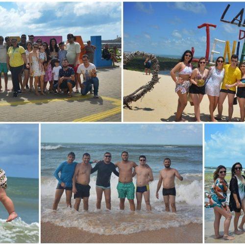 GENTE EM EVIDÊNCIA | Grupo de amigos de Francisco Macedo curte final de semana em Natal