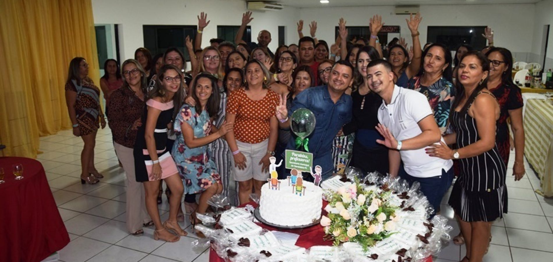 Educação de Geminiano promove jantar para comemorar o Dia do Professor com docentes
