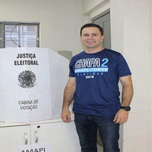 Juiz Leonardo Brasileiro é eleito presidente da Amapi