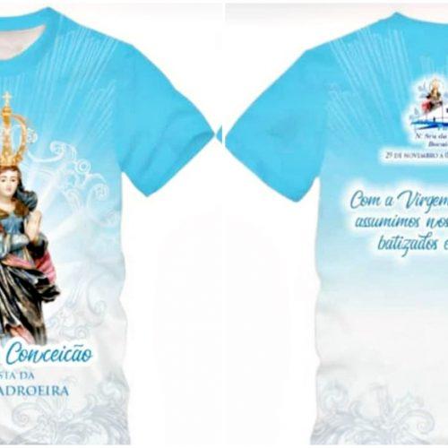 Camisetas da padroeira de Bocaina estão à venda. Adquira!