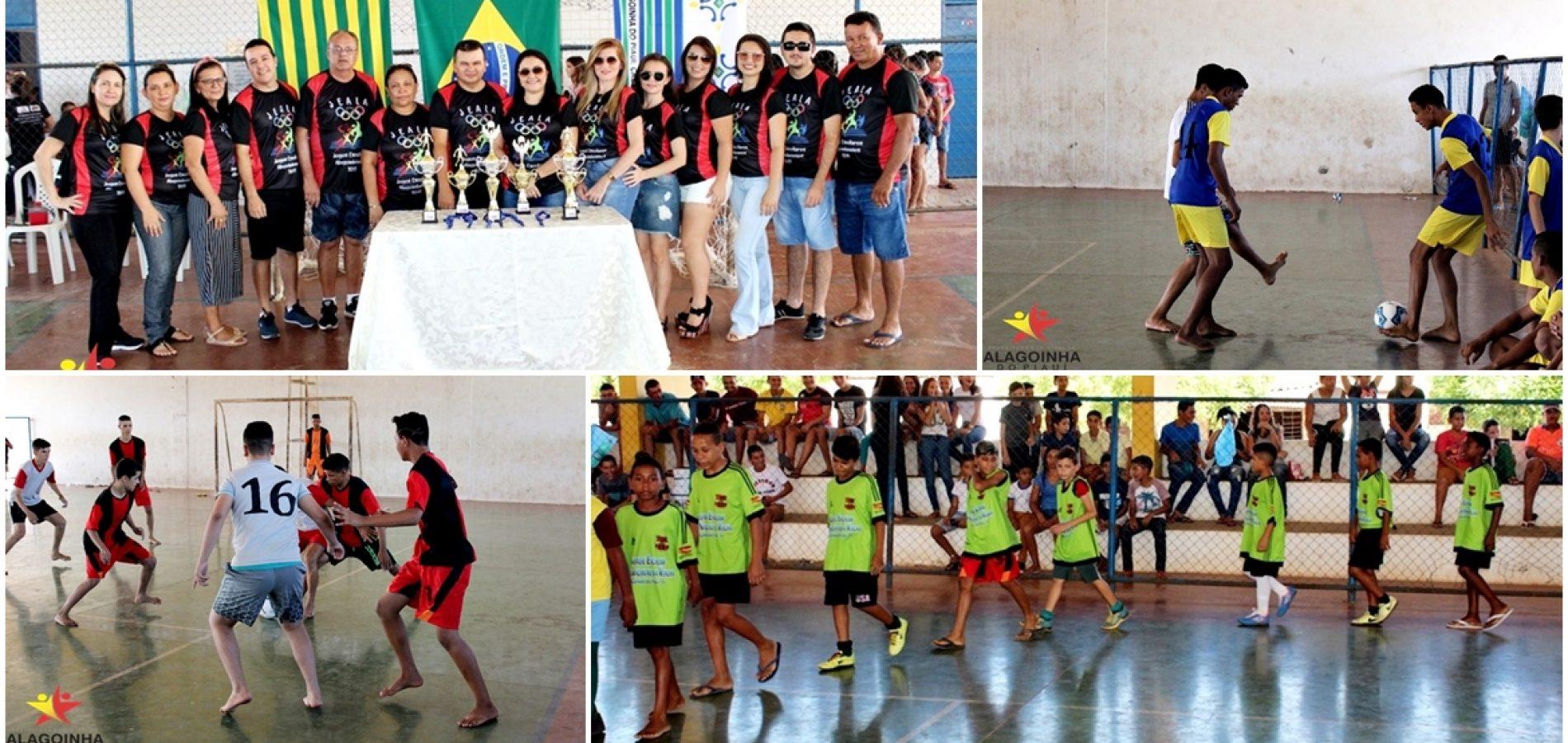 Educação de Alagoinha do Piauí promove os Jogos Escolares Alagoinhenses 2019; fotos