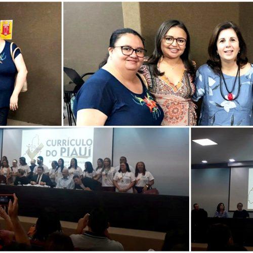 Educadores de Alagoinha participam em Teresina de formação sobre novo currículo da BNCC do Piauí