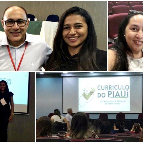 Em Teresina, educadores de Bocaina participam de formação sobre novo currículo da BNCC do Piauí