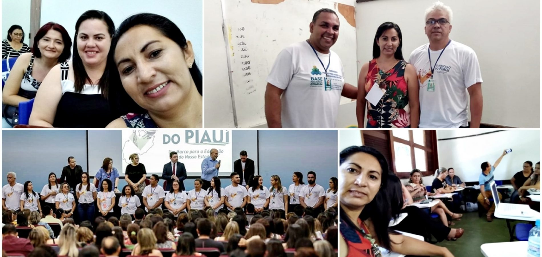 Técnica da Educação de Francisco Macedo participa em Teresina de formação sobre novo currículo da BNCC do Piauí