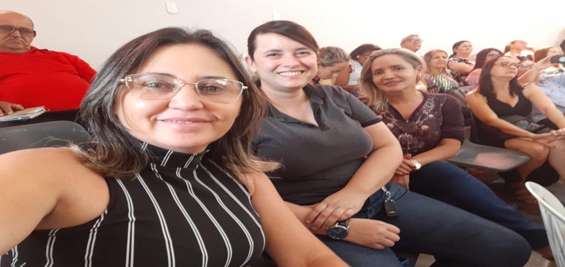 Profissionais representam Alegrete do Piauí no 1º Encontro Técnico TCE Educação, em Picos