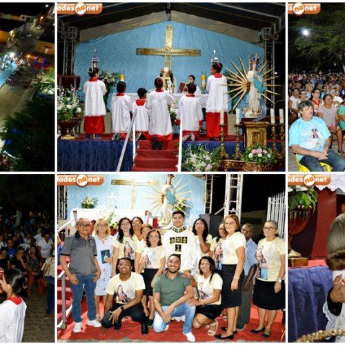 Em São Julião, novena e missa marcam a primeira noite do 146º festejo de N. S. da Conceição; fotos