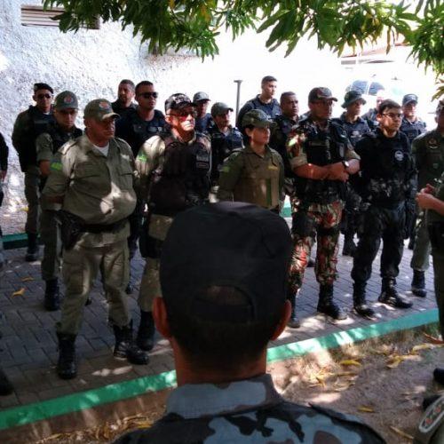 Mais de 500 policiais reforçam a segurança no 1º dia do Enem no Piauí